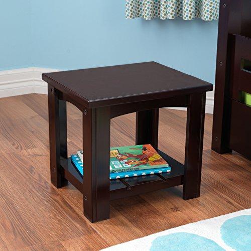 - KidKraft Addison Toddler Wood Side Table , Espresso