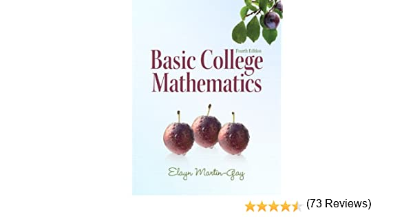 Amazon.com: Basic College Mathematics (4th Edition) (9780321649409 ...