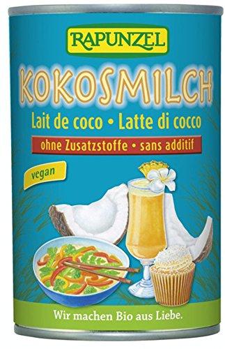 Leche de coco Rapunzel bio (1 x 400 ml)