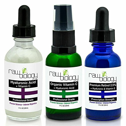 Organic LIQUID FACELIFT Vitamin CRETINOLHyaluronic Acid. Voted 1 MOST EFFECTIVE Anti Aging product & Acne Treatment for 2015. Take 10 YEARS OFF w our Dr Recommended All-in-1 Skin Care Set to BUILD COLLAGEN Get Rid of Wrinkles & Smooth Skin.