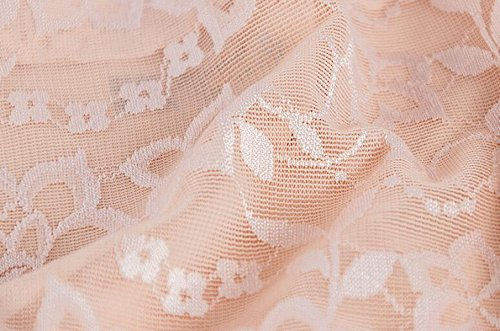 POKWAI 4 Bolsas Mujeres Atractivas De La Ropa Interior De Algodón De La Cintura De La Entrepierna De Costura Del Cordón De Seda De Hielo Transparente Breves Del Rastro A4