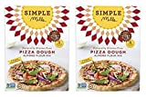 dough simple - Simple Mills Pizza Dough Mix, 9.8 Ounce (Pack of 2)