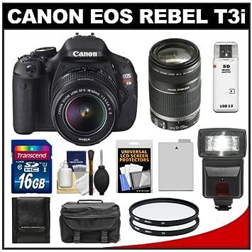 Canon EOS Rebel T3i cámara réflex digital de 18.0 Mp cuerpo y ...