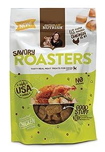 Rachael Ray Nutrish Savory Roasters Dog Treats, Roasted Chicken Recipe, 3 oz (Pack of 8)