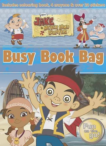Disney Jake and the Never Land Pirates Busy Book Bag (Condition Mint Pirates)
