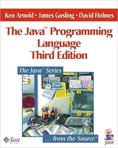 Java(TM) Programming Language, The (3rd Edition) (The Java Series