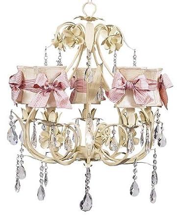 Amazon.com: 5 brazos salón de baile lámpara de araña en ...