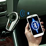 Bluetooth Handsfree FM Transmitter Car Kit MP3 Music Player Radio Jammer With Remote Control For iPhone Samsung LG Smartphone