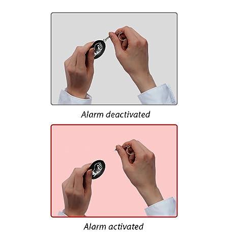 Defensa personal sistema de alarma Personal de emergencia ...