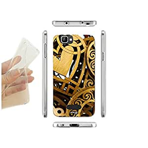 FUNDA CARCASA SLIM MACCHINE GOLD PARA WIKO BLOOM 2 TPU