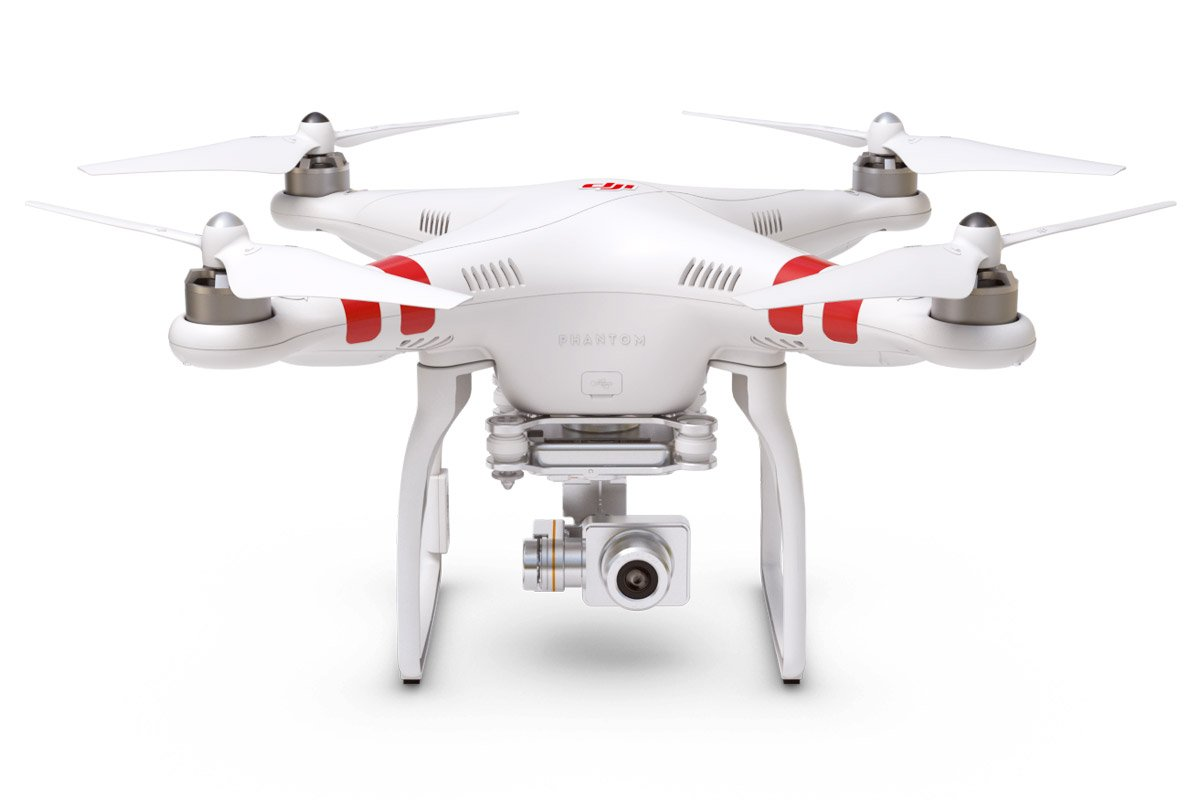 High-performance drone DJI Phantom 2 Vision+ V3.0 Quadcopter