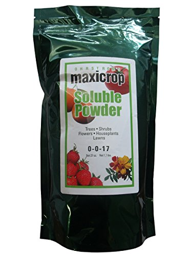 Maxicrop Pure Seaweed Extract Soluble Powder 0-0-17, - Powder Seaweed Soluble