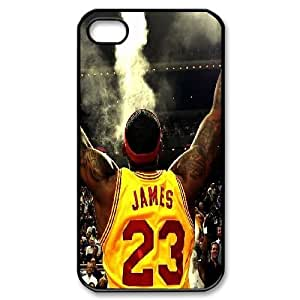Custom iPhone 4,4S Cover, Personalized iPhone 4,4S Case - LeBron James
