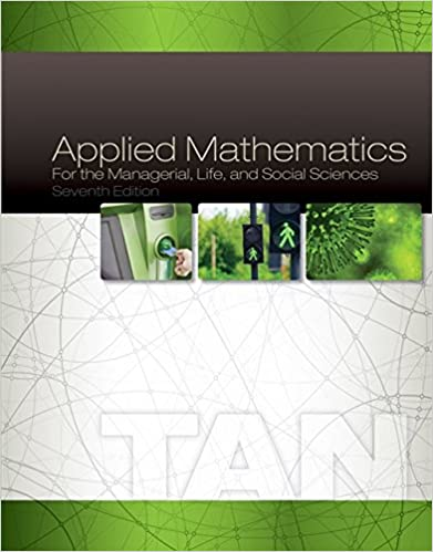 Applied Mathematics For The Managerial Life And Social