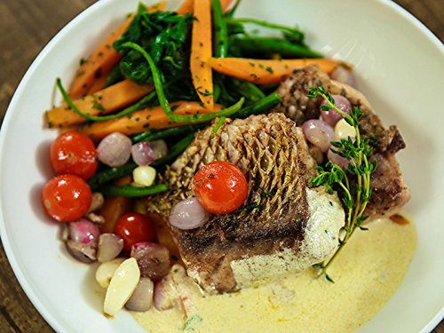 Pan Fried Red Snapper With Lemon Butter Cream Sauce