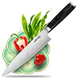best seller today Chef Knife 8 Inch, MIZOO Pro Chef's...