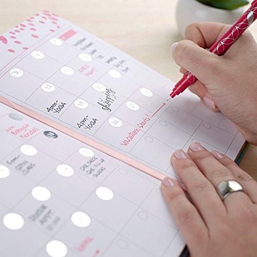 """Erin Condren Life Planner Hardbound - Undated Calendar & Weekly Planner, Horizontal Layout (5"""" x 8"""")"""