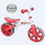 Childrens Y Velo Junior Balance Bike - Red - 18-48 Months - Unisex! by Yvolution