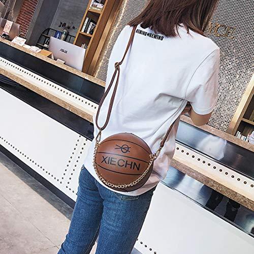 Hombro De Única Bolsos Football Bandolera Impresión color Portátiles Mujer Para Bolso Forma Aredovl Basketball Esférica EfwYYq