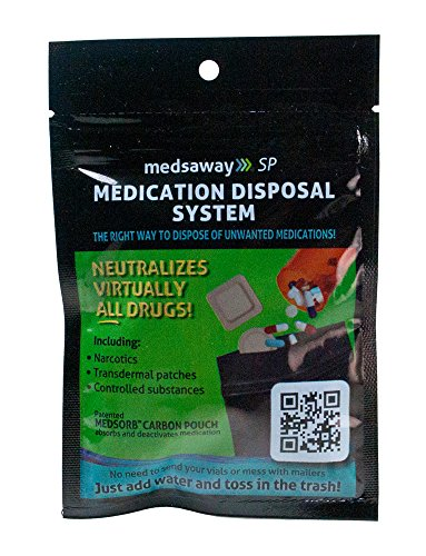 Binding Patented System (Medsaway Medication Disposal System)