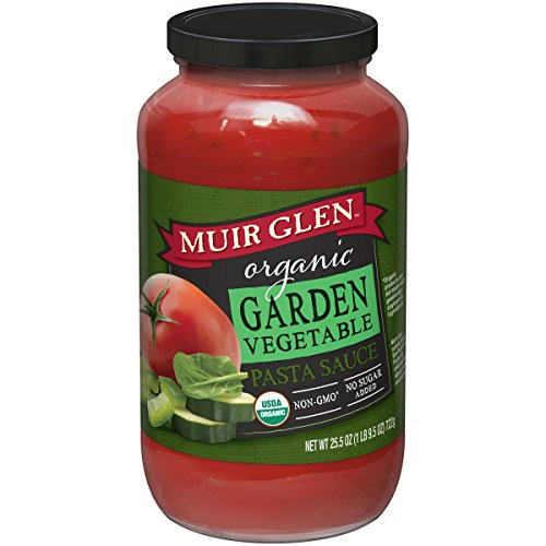 Muir Glen Organic Garden Vegetable Pasta Sauce, 25.5 oz