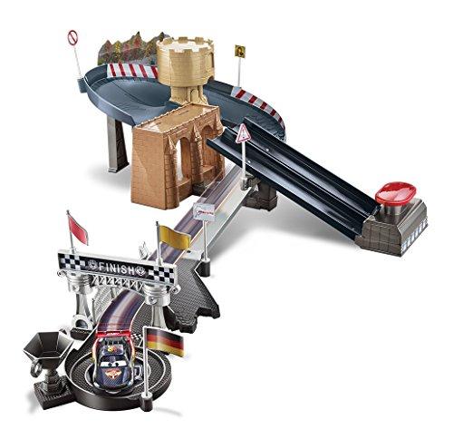 Racetrack Mcqueen Lightning (Mattel Disney/Pixar Cars Carbon Racers Double Lane Duel Track Set)