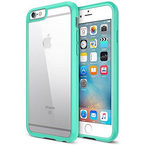 iPhone 6S Case, Trianium [Clear Cushion] Premium Clear Hard Back Panel +...