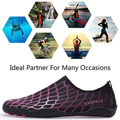 Rose Aquatiques Sixspace Homme Chaussures pour w5IxICFOq
