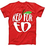 Best TeeShirtPalace Brother Tshirts - Red for Ed Arizona Teachers Protest #redfored Apple Review