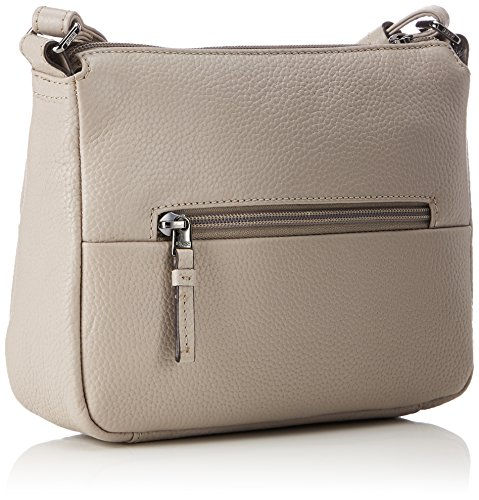 BREE Collection Faro 1, Black, Cross Shoulder S, Borsa A Tracolla da donna Grigio (Vintage)
