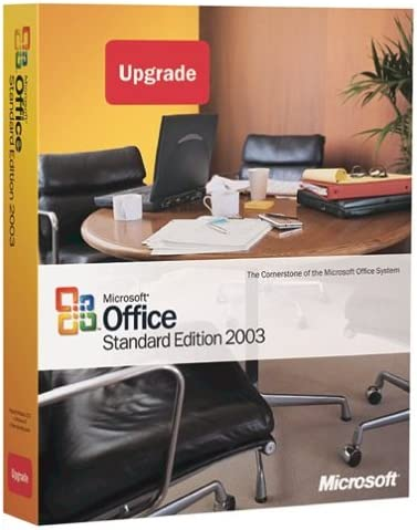 Microsoft  Upgrade MS Office vx to 2003 Standard Edition