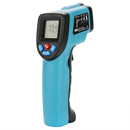 Zerodis Non Contact Digital Infrared Thermometer Gun Temperature Meter  Instant-read with LCD Display for Cooking Food Industry(-50℃ to 550℃)   Amazon.co.uk  ... f94c996a903dd