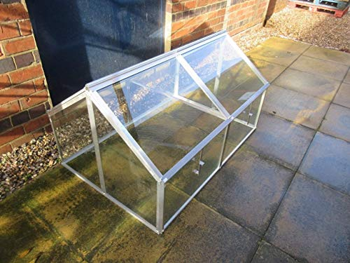 Hall Jumbo Cold frame with Toughened Glass/mini greenhouse