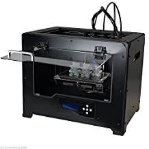 FlashForge USA 3D Printer Creator PRO Dual Extruder for PLA/ABS Printing-Full Metal Chamber Case and 6 Month Extended Warranty