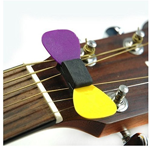 1Pc Rubber Pick Holder Fix on Headstock For Guitar Bass Ukelele Guitar Accessories