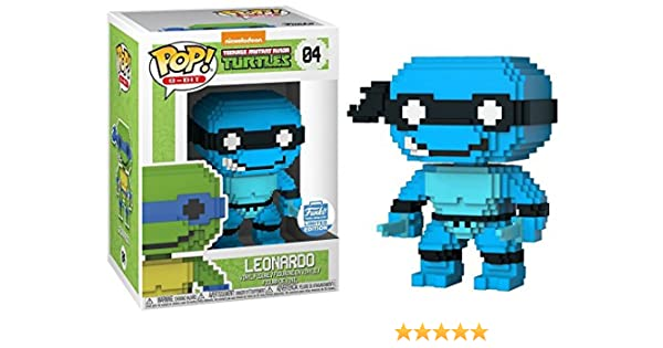Funko 8-Bit POP: Teenage Mutant Ninja Turtles - Neon Leonardo