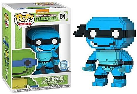 Funko 8-Bit POP: Teenage Mutant Ninja Turtles - Neon Leonardo