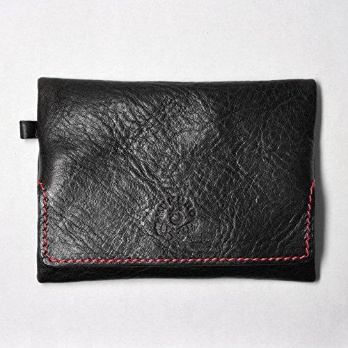 [239] pocket tissue case / oil leather case / leather invisible (Tochigi leather) [black] 239 Leather
