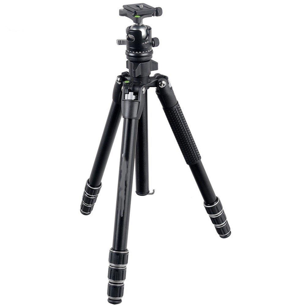 ポータブルアルミニウム合金取り外し可能SLRカメラ三脚、一脚、self-timer旅行三脚、PTZパノラマ撮影スタンド B07FFS914Y