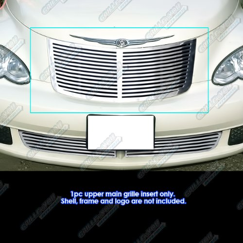 - APS R96904A Polished Grille Replacement for select Chrysler PT Cruiser Models