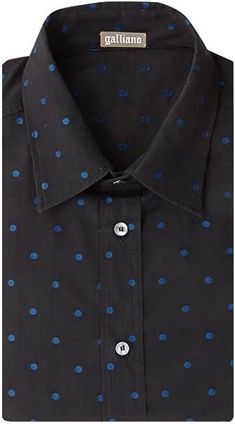 Galliano - Camisa de vestir - camisa - Lunares - para hombre ...