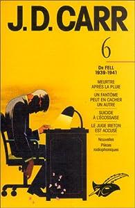 J.D. Carr, numéro 6 par John Dickson Carr