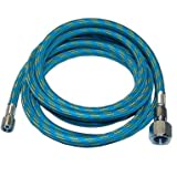 Premium-Quality 6-Ft Braided Airbrush Air Hose 1/8