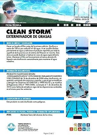YMBERSA Clean Storm: Clarificador, Floculante y Eliminador de ...