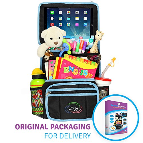 Learn More About Backseat Organizer for Kids 3 in 1: Car Organizer + Hooks for Hanging Under the Sea...