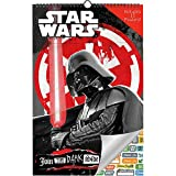 Star Wars Calendar 2019 Set - Deluxe 2019 Star Wars Oversized Calendar with Over 100 Calendar Stickers (Star Wars Gifts, Office Supplies)