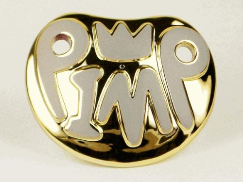 Billy Playground Pimp Baby Pacifier product image