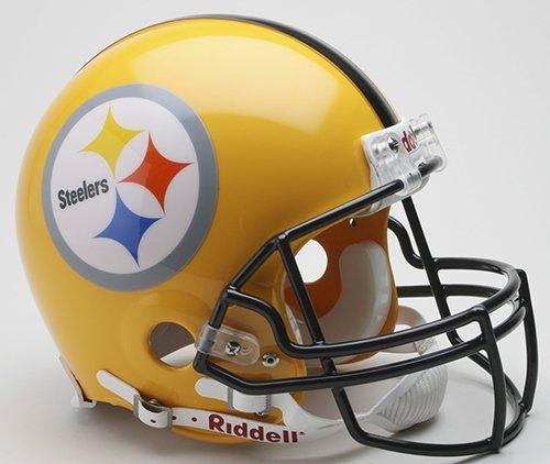 Pittsburgh Steelers 2007 Riddell VSR4 Authentic Full Size Football Helmet by Riddell