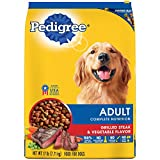 PEDIGREE Complete Nutrition Adult Dry Dog Food Grilled Steak & Vegetable Flavor, 17 lb. Bag