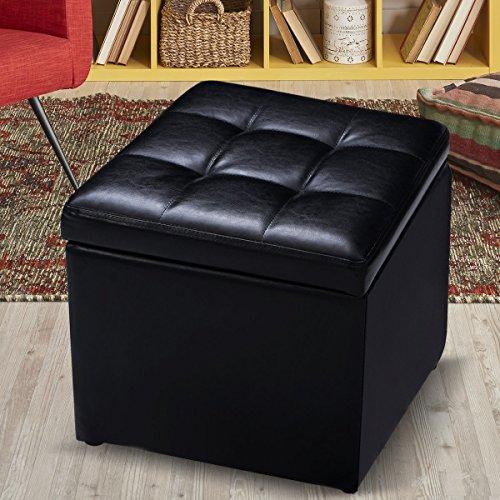 Giantex Ottoman Pouffe Storage Footstools